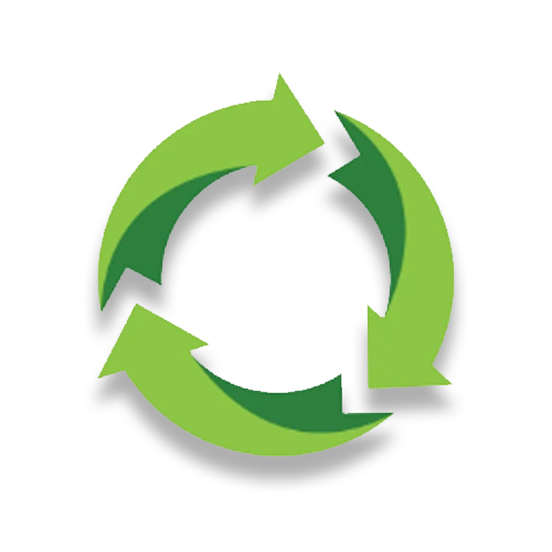recycle 500x500 green